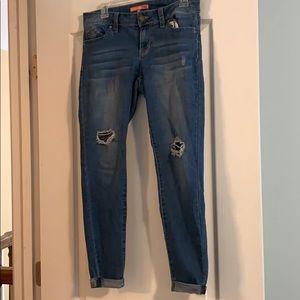 Wanna Betta Butt cropped jeans